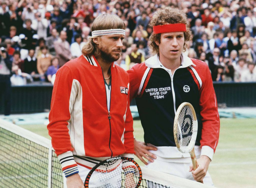 6 luglio 1980, la madre di tutte le finali Slam dell'era Open: l'archetipo delle rivalità moderne, Bjorn Borg contro John McEnroe.